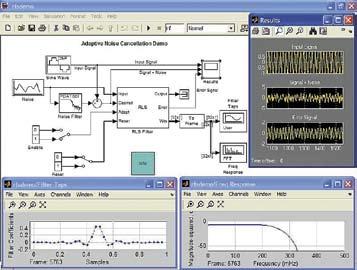 Пример очистки сигнала от шума