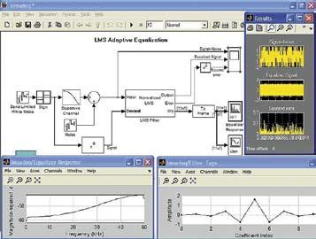 Пример построения адаптивного LMS-эквалайзера