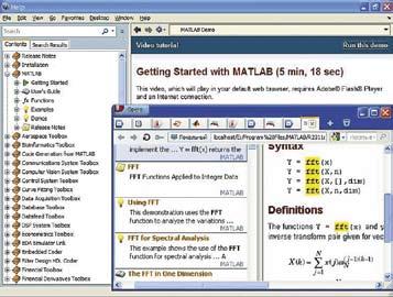 Просмотр видеофильма по работе с системой MATLAB R2011a