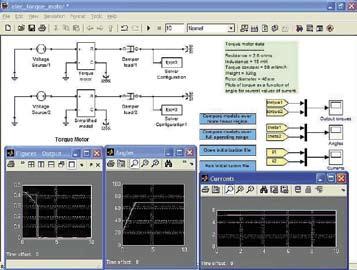 Пример моделирования серводвигателя