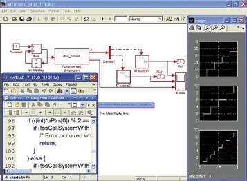 Пример применения блока вычислений S-функций