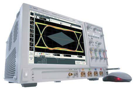 Рис. 4. Осциллограф серии Agilent 90000A, единственный в отрасли осциллограф с трехуровневой системой запуска InfiniiScan Plus