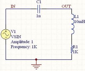 Рис. 22. Схема цепи с добавленной катушкой индуктивности