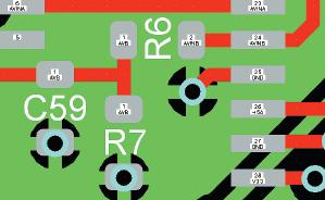 Рис. 5. Пример подключения фильтрующей емкости
