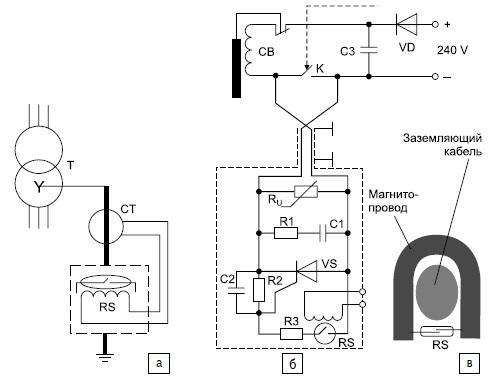 Реле защиты силового трансформатора