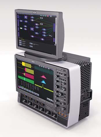 Рис. 1. LeCroy WP 7 Zi с опцией дополнительного сенсорного экрана