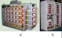 Рис. 9. Выпрямитель В-ОПП-3200 и шкаф ШПЧ-150