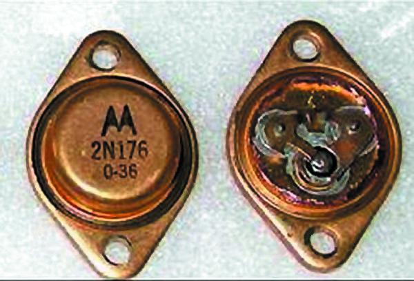 Германиевый транзистор 2N176