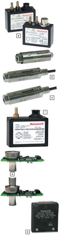 Датчики давления Honeywell: а) кремниевые МЭМС PPT; б) преобразователи в упрочненном исполнении PPTR