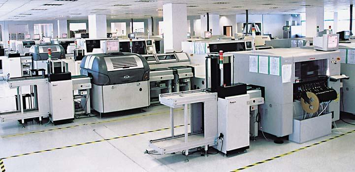 Рис. 1. Производство компании Quick Electronic Co., Ltd.