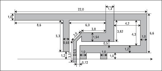 Схема согласования антенны для MRF24J40