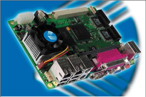 Продукт EPIC-CE — одноплатный компьютер компании Kontron Embedded Modules