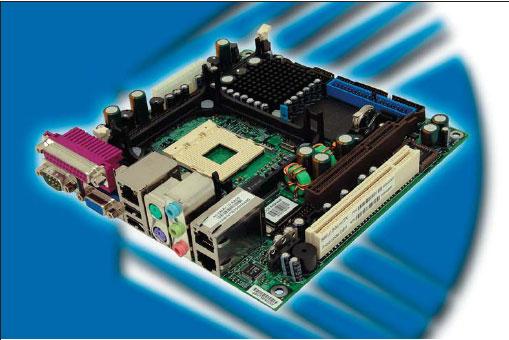 Первая миниатюрная материнская плата формата MiniITX от компании Kontron Technology A/S