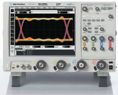 Осциллограф серии 90000 X, обладающий истинной аналоговой полосой пропускания до 32 ГГц