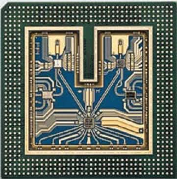 Многочиповый модуль, разработанный компанией Agilent для осциллографов серии 90000X