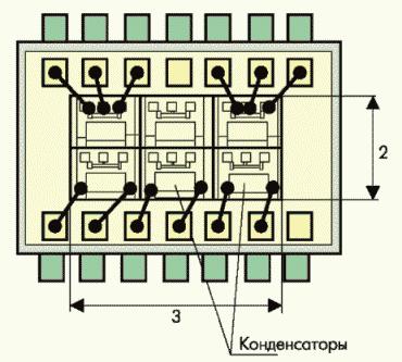 Рис. 2. Схема посадки датчика точки росы в корпус типа 401.14.4 (размеры указаны в мм)