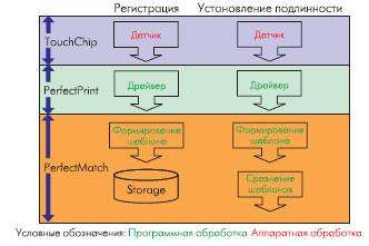 Процессы регистрации и установления подлинности личности