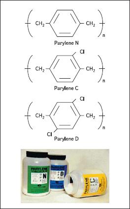 Исходное вещество полипараксилиленового покрытия