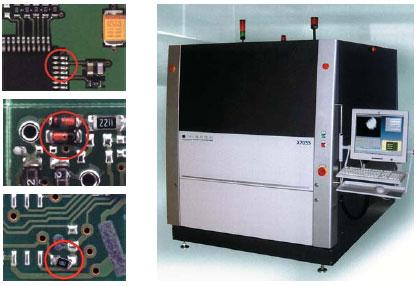 X7055 — универсальная инспекционная система AOI/AXI. Обнаружение дефекта монтажа SMD-компонента при помощи X7055