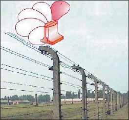 Радар, установленный на границе охраняемой территории