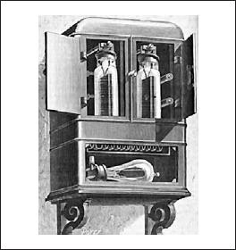 Первый в мире электросчетчик