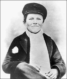 Томас Эдисон в 15 лет