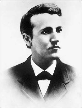 Эдисон в начале 1870-х годов