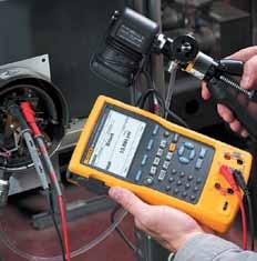 Работа с калибратором давления в производственных условиях