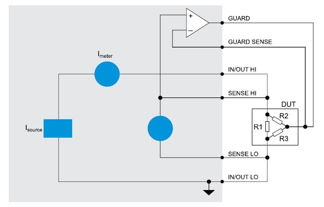 Cхема калибратора Keithley 2430-С