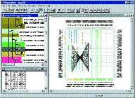 Пример окна программы Floorplanner
