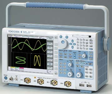 Внешний вид осциллографа DL 9240 корпорации Yokogawa