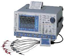 Осциллограф серии DL 7480  с опцией смешанных сигналов и встроенным принтером