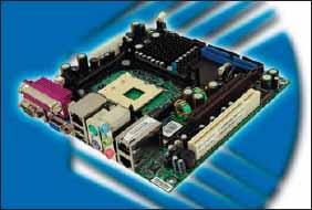 Компактная материнская плата 886LCD-M/mITX — «первая ласточка», за которой последуют другие продукты компании Kontron Technology A/S, выполненные в конструктиве MiniITX