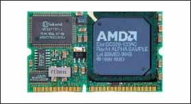 Одноплатный компьютер DIMM-PC/520-I