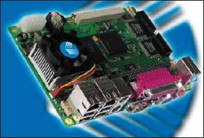 Внешний вид первого одноплатного компьютера компании Kontron Embedded Modules, выполненного в перспективном конструктиве EPIC