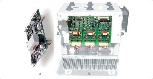 драйвер SKYPER 32PRO, модуль SEMIKUBE 1/2 с платой управления