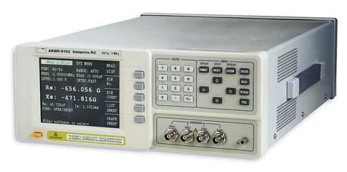 Рис. 1. Внешний вид измерителя АКИП-6103