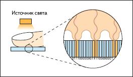 Принцип работы оптоволоконных сканеров