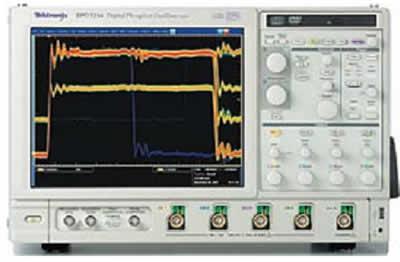 Отображение редко происходящих событий в сигнале при помощи технологии DPO