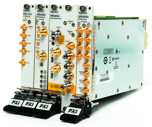 Высокопроизводительный векторный анализатор сигналов Agilent M9393A PXIe