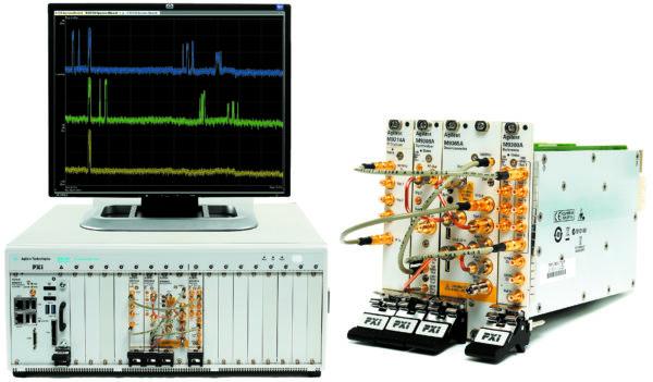 «Истинно модульный» векторный анализатор сигналов Agilent M9393A PXI VSA