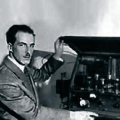 Рис. 7. Л. Термен в 30-е годы, США