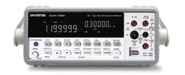 Внешний вид вольтметра GDM-78261