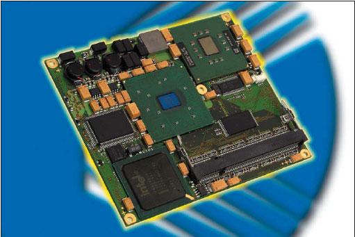 Одноплатный компьютер ETXPM — флагманский продукт формата ETX от компании Kontron Embedded Modules