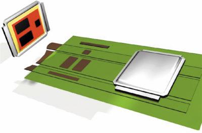Параллельное размещение DirectFET-компонентов на плате