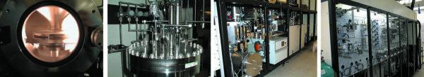 Общий вид установки газофазной эпитаксии в IRnova