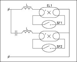 Подключение конденсатора последовательно сети питания