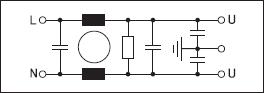 Электрическая схема фильтра LC