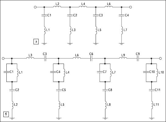 Схема первого варианта фильтра