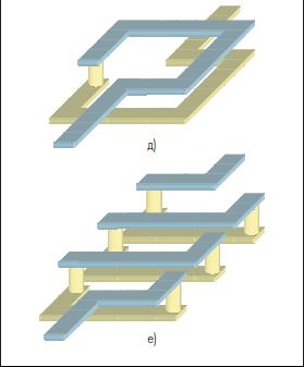 Квазисосредоточенные индуктивные элементы многослойных ИС на КНТО